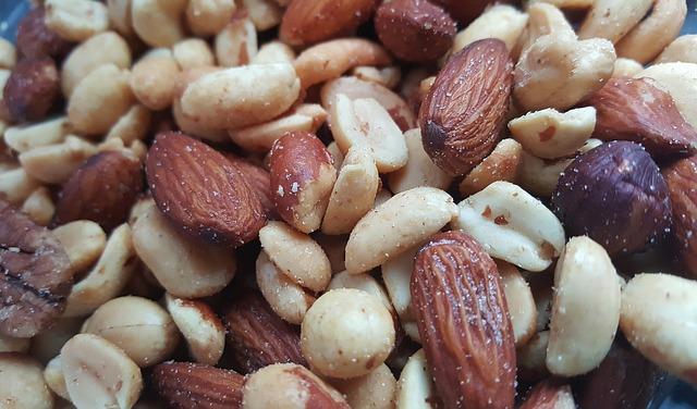 frutos secos, insaturados