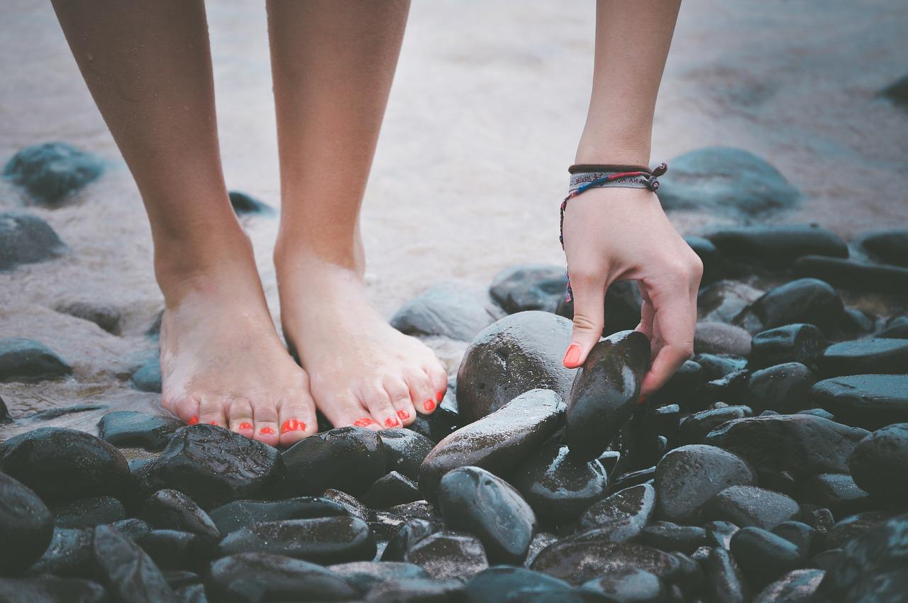 playa pies