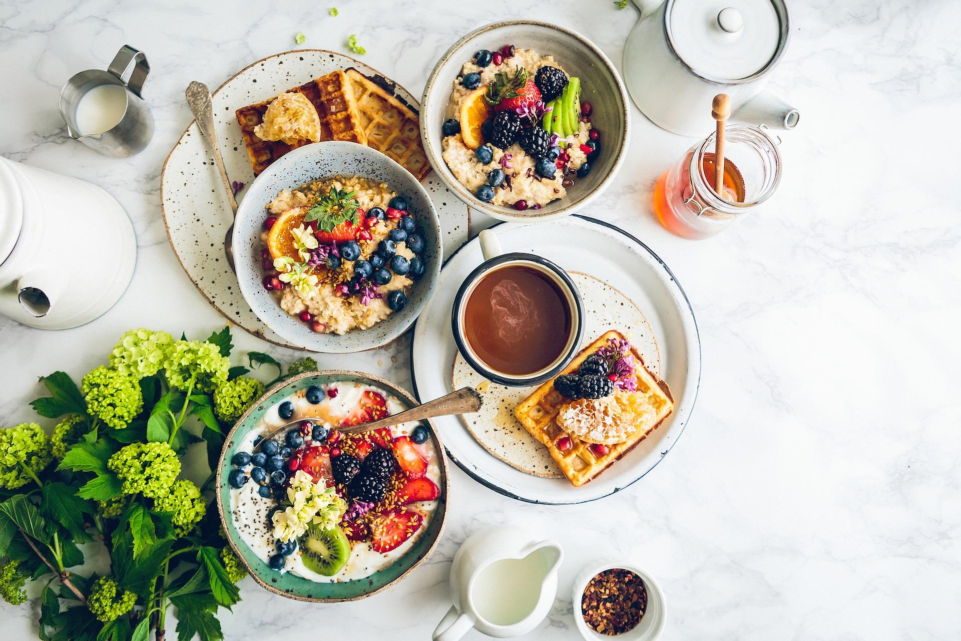 desayuno rico en macronutrientes